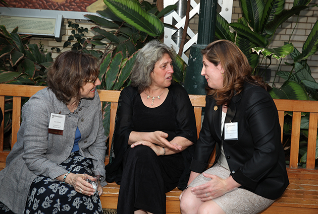 Esther Lev with Ellen Gillinsky and Kathleen Kutschenreuter from U.S. EPA