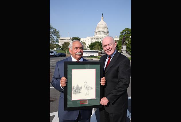 Jack Rudloe with ELI President, John Cruden