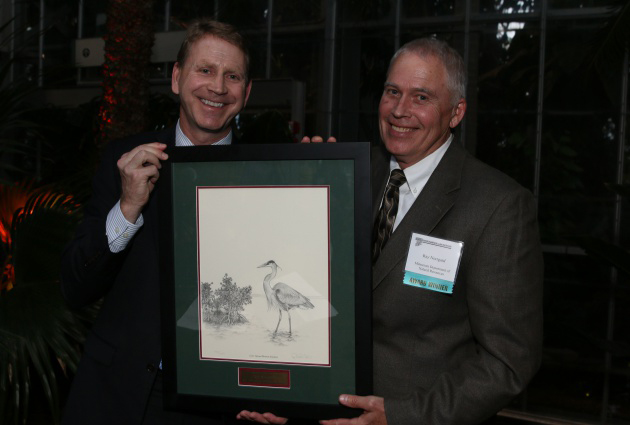 Ray Norrgard with Mendel Stewart(U.S. Fish and Wildlife Service)
